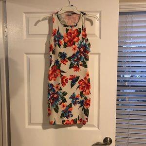 Tropical Tobi bodycon dress